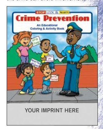 Crime Prevention Coloring Book