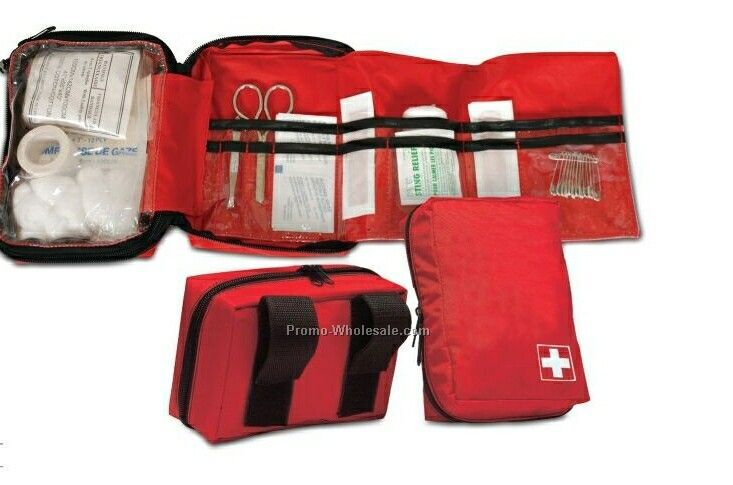 First Aid Easy Pouch With Accessories