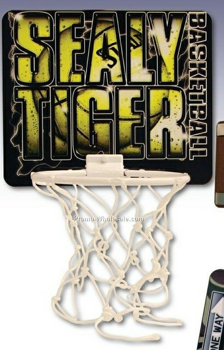Full Color Digital Basketball Goal