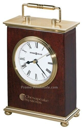 Howard Miller Rosewood Bracket Clock (Blank)