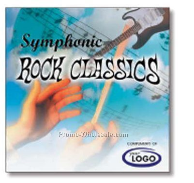 Instrumental Symphonic Rock Classics Compact Disc In Jewel Case/ 10 Songs