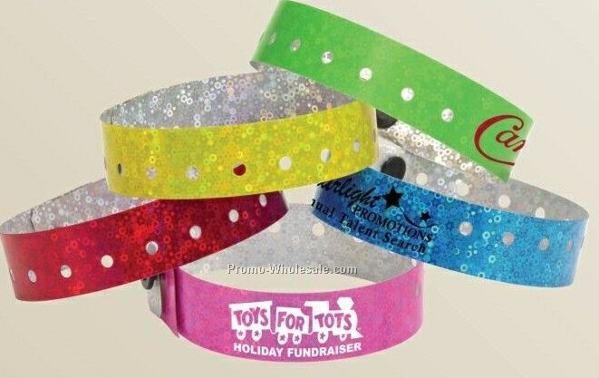 Liquid Glitter Wristband - 4 Hour Ship