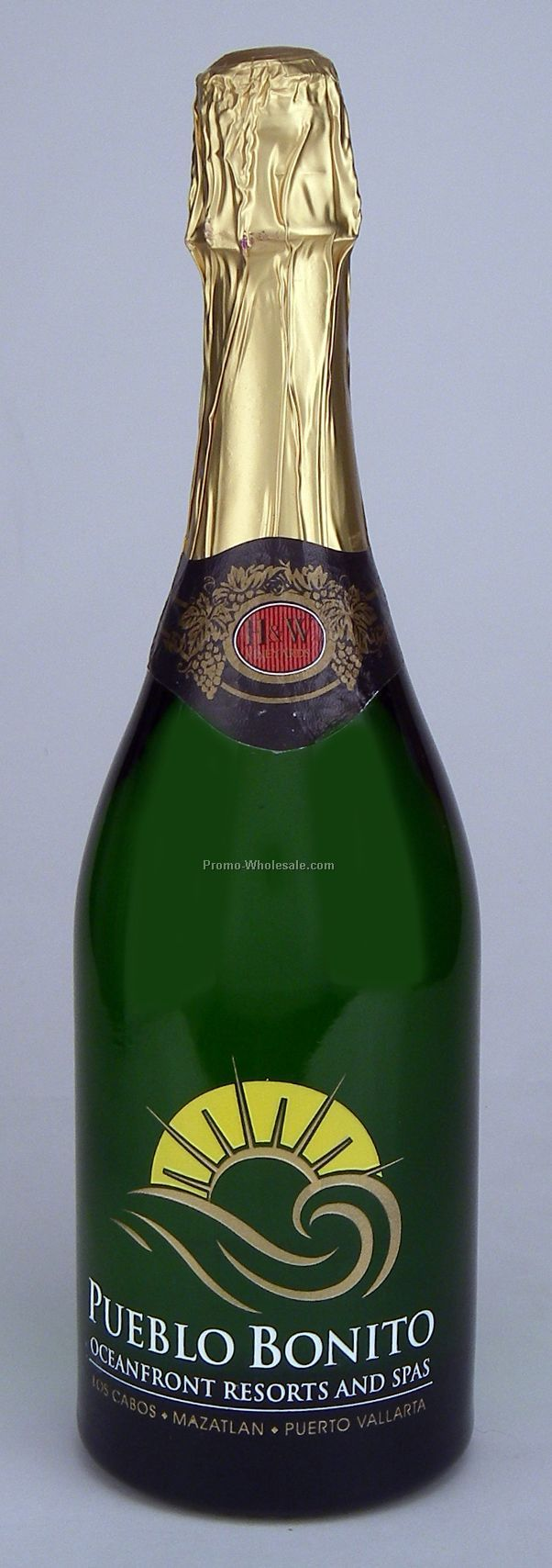 Non Alcoholic Sparkling Grape Juice, 750 Ml, 1 Deep Hand-etch, 3 Paint Fill