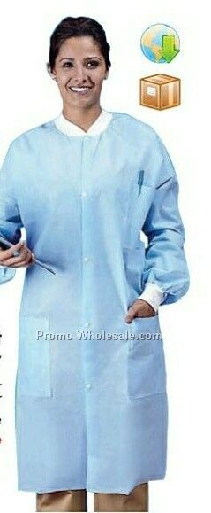 Non-woven Lab Coat (M-3xl) (Printed)