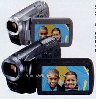 Panasonic Silver Compact Shock-resistant Sd Camcorder