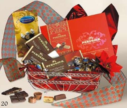 Perugina Holiday Collection Gift Basket