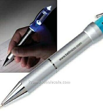 Stock Globe Liqui-light Pen (1 Day Rush)