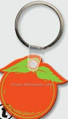 Stock Shape Collection Orange Key Tag