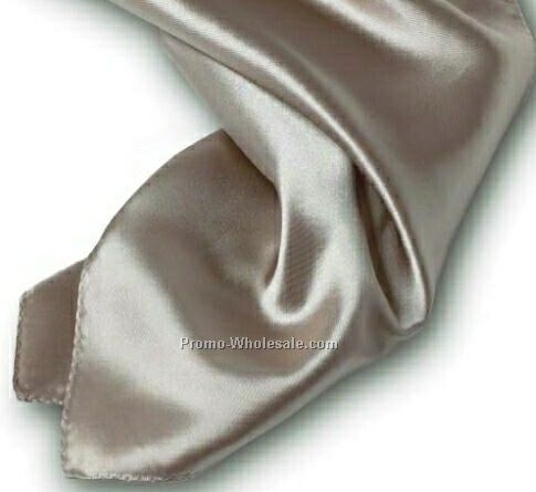 Wolfmark Champagne Beige Solid Series Polyester Scarf