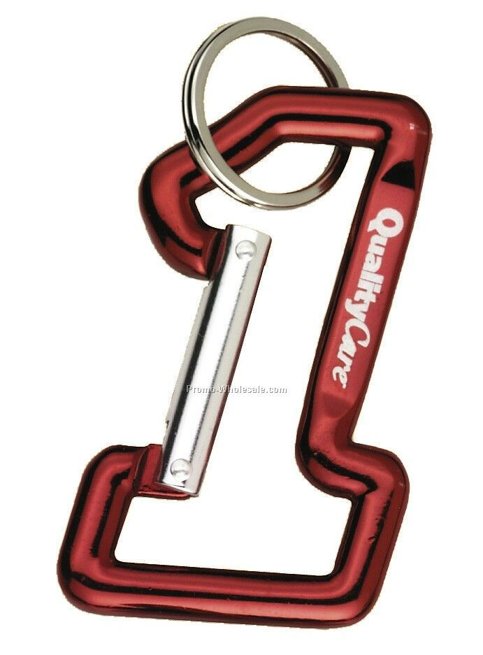 #1 Carabiner - Red