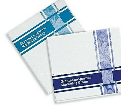 "1"" Ring Flip Chart Binder (1 Color/Screen Print)"