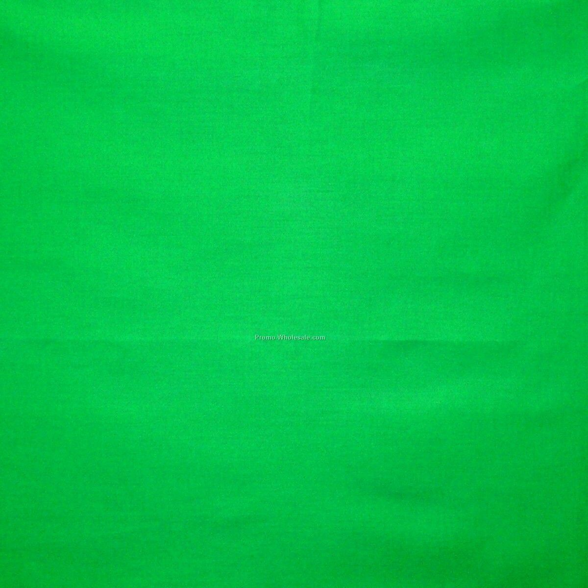 "14""x14"" Blank Solid Kelly Green Imported 100% Cotton Handkerchiefs"