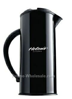 17 Oz. Black Designer Pitcher