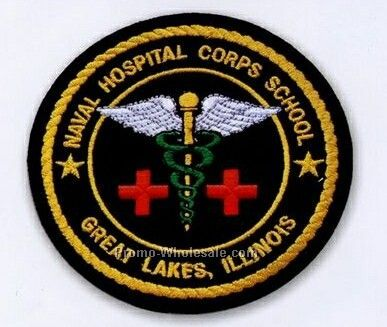 "2"" Custom Embroidered Patch With 50% Coverage"