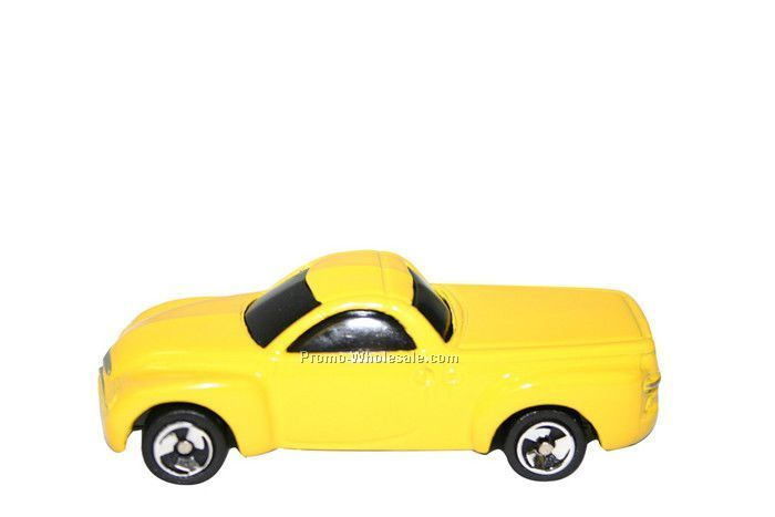 "3-1/2""x1-1/4""x3/4"" Yellow Chevrolet Ssr Truck"