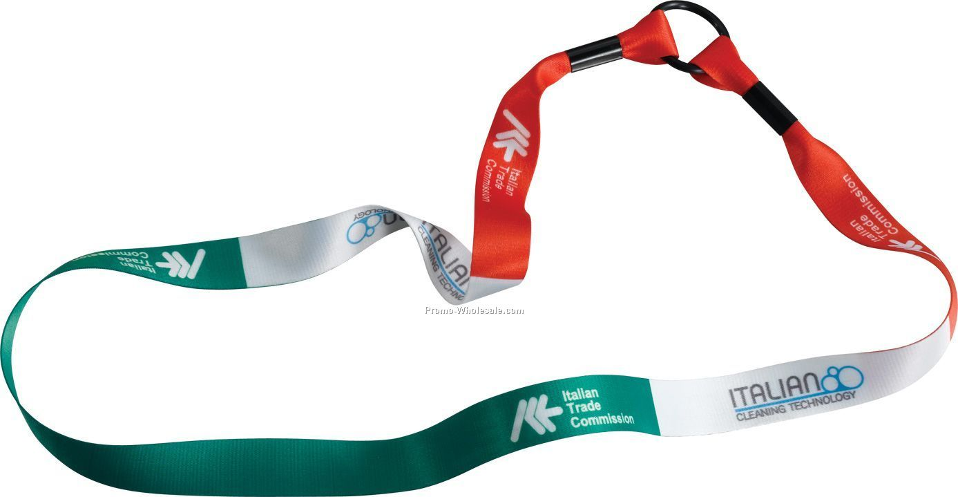 "3/4"" Dye Sublimated Water Bottle Strap"