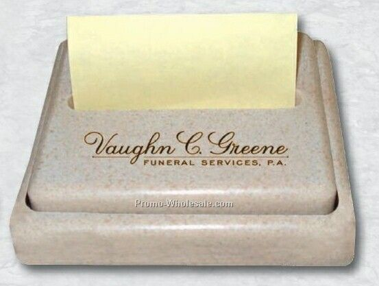 "3-7/8""x4-1/8""x1"" Summit Stone Pop-up Note Holder"