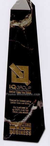 "3""x12""x3"" Obelisk Pinnacle Award - Medium-large"