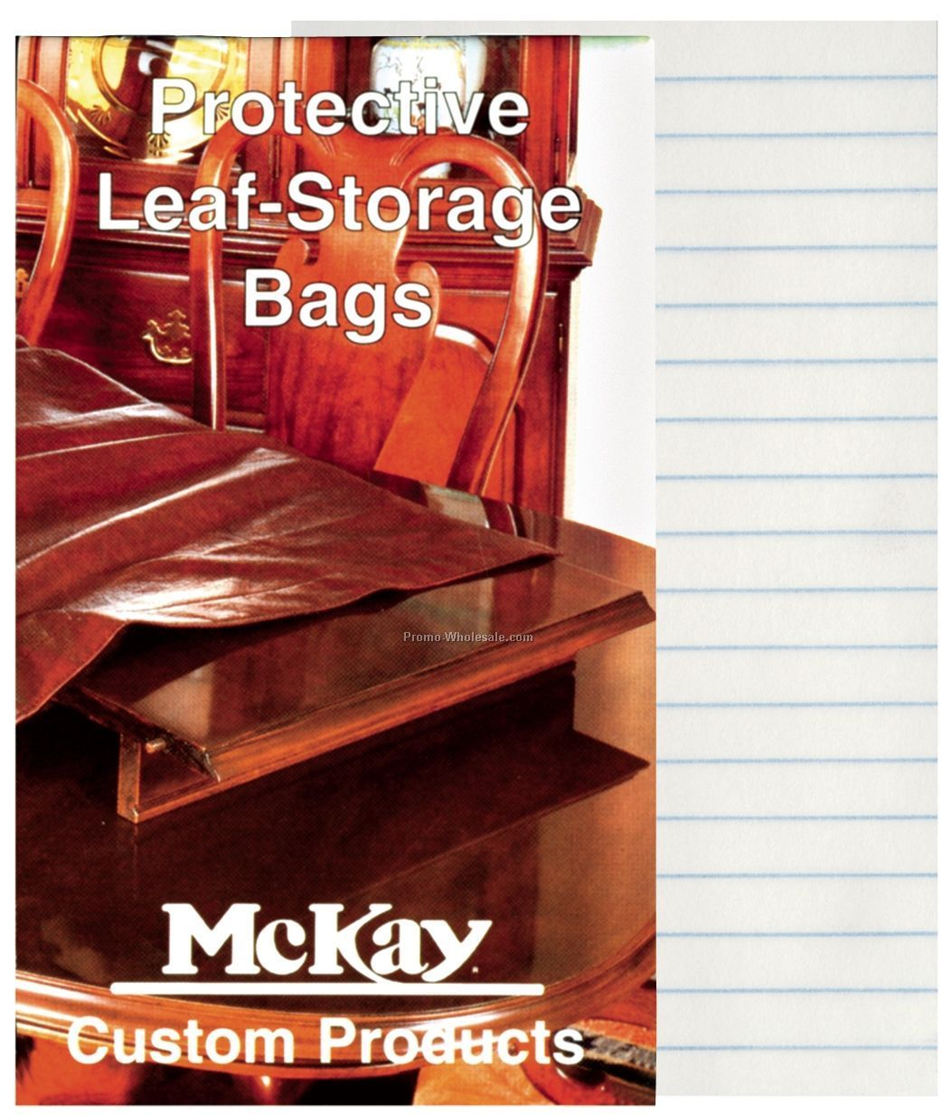 "3""x5"" Saddle Staple 32 Sheet Memo Book"
