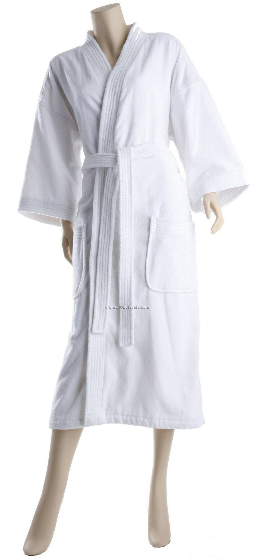 "48"" Price Point Basic Velour Kimono Robe (Made In China)"