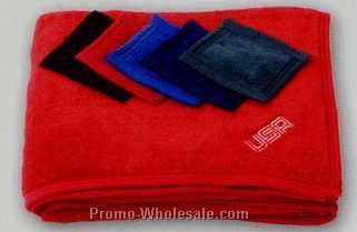 "50""x58"" Imported Coral Fleece Blanket"