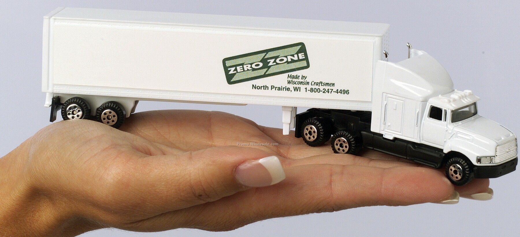 "7"" Die Cast Sterling Aeromax Hauler Truck With Trailer"
