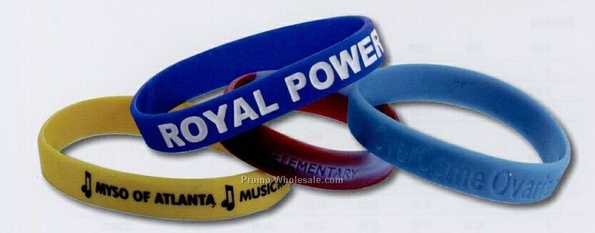 Adult Inspiration Wristbands (Debossed)