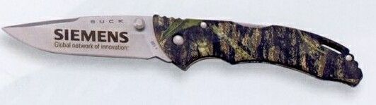 Buck Bantam Bbw Camouflage Lockback Pocket Knife With Clip