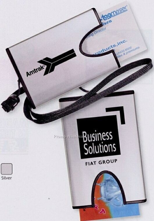 Business Card Holder On A Rope (3 Day Shipping)
