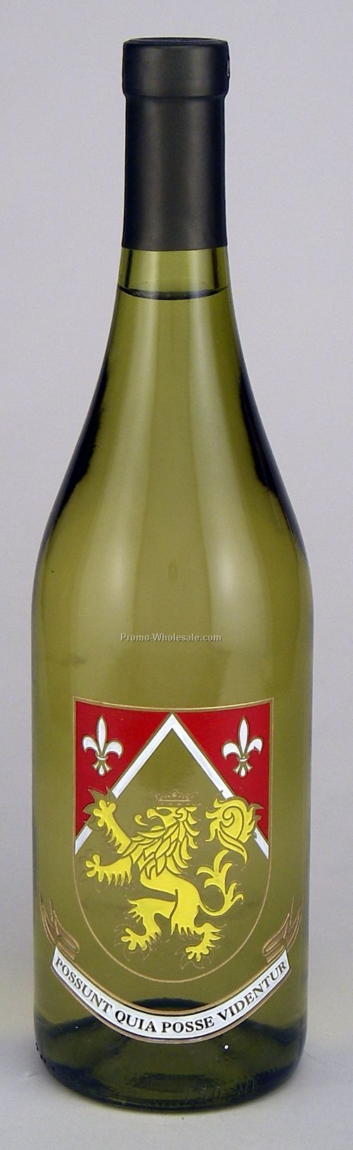 Chardonnay, California, 750 Ml, 1 Deep Hand-etch, 4 Paint Fills