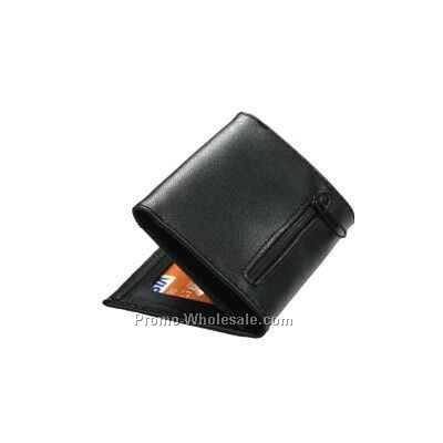 Expandable Business Card Case With Zipper