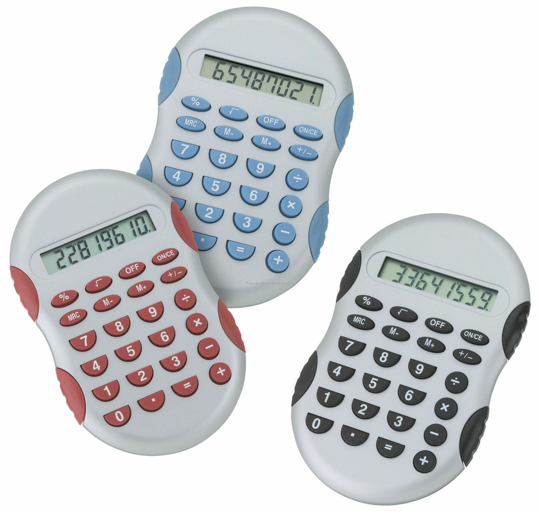 "Giftcor Collection Light Blue Comfort Calculator 4-1/2""x2-3/4"""