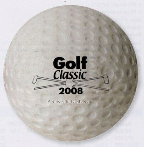 Golf Ball Stress-ease Toy (Standard Shipping)