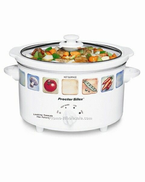 Hamilton Beach 4 Qt Oval, Slow Cooker