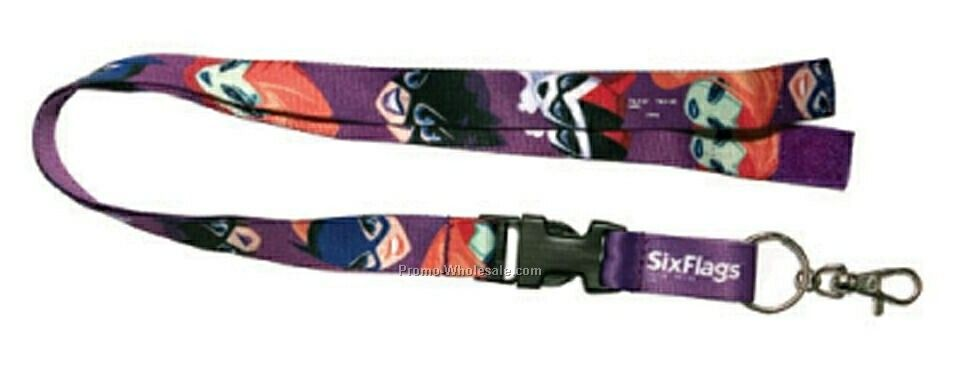 Heat Transfer Lanyard - 3/4""