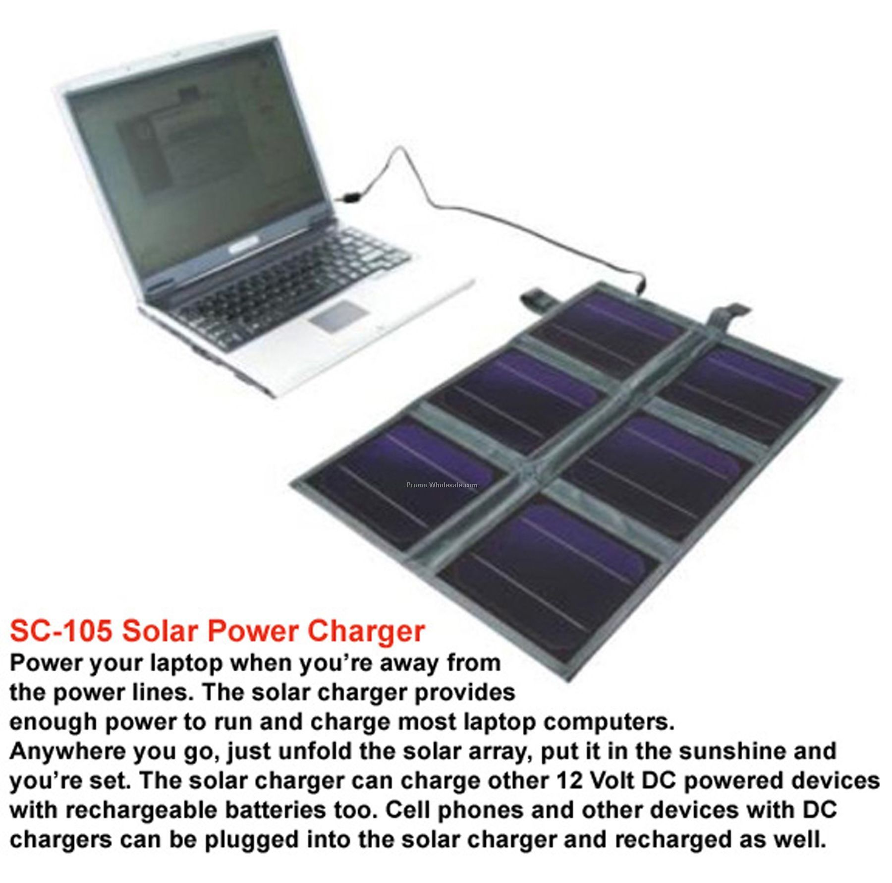 Laptop Computer Solar Charger