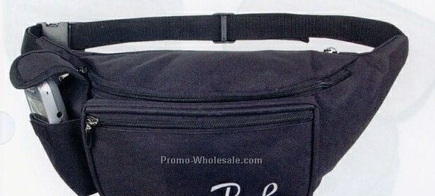 Large Fanny Pack W/ Cell Phone Pocket