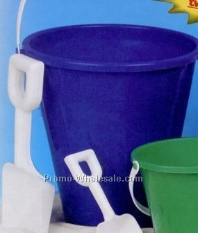 "Large Sand Pail W/ 9"" Shovel"