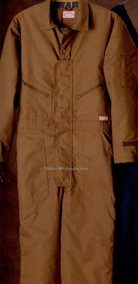 Men's Polyester/ Cotton Duck Insulated Coverall