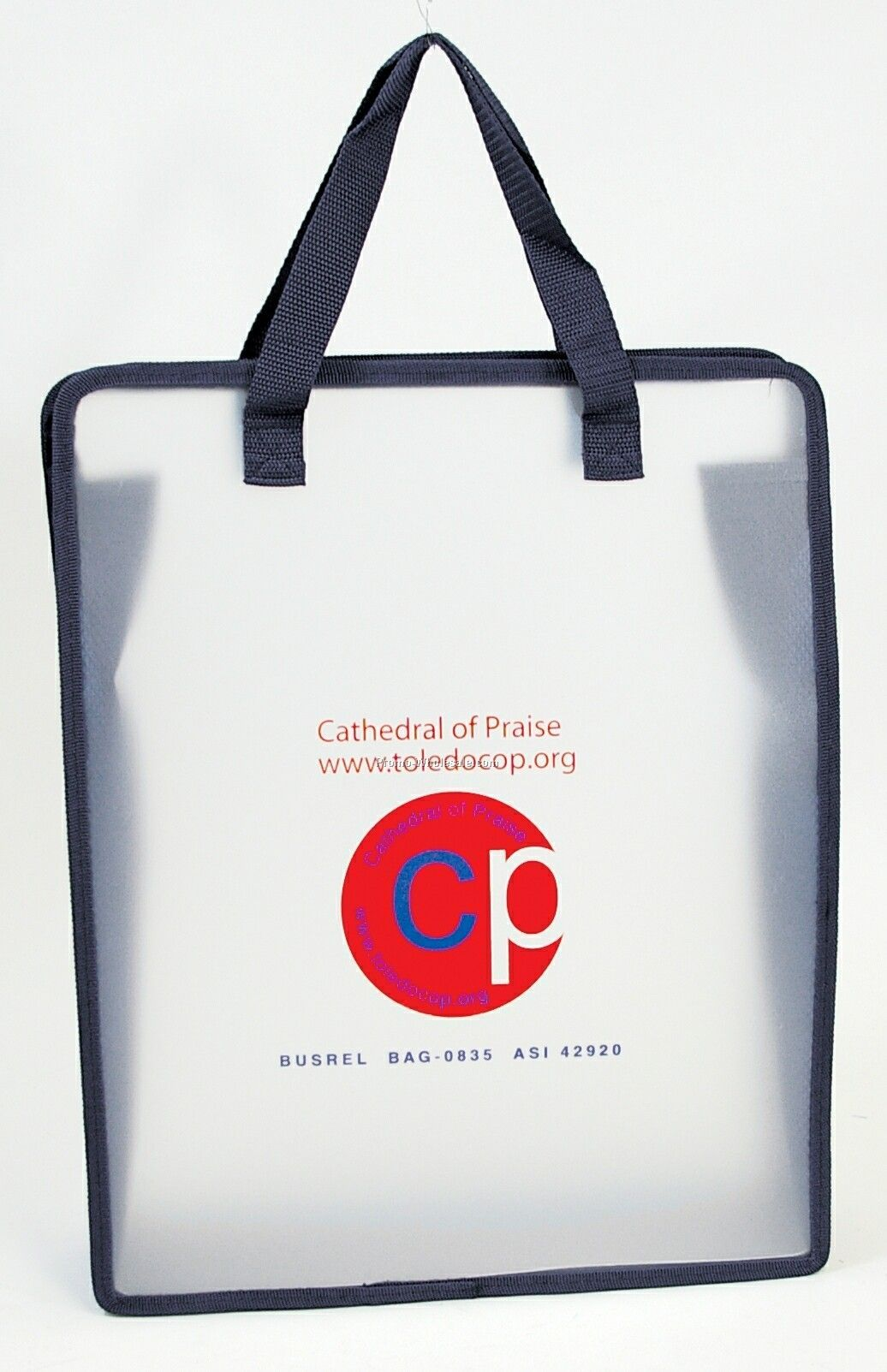 Polypropylene Frosty Transparent Panel Bag