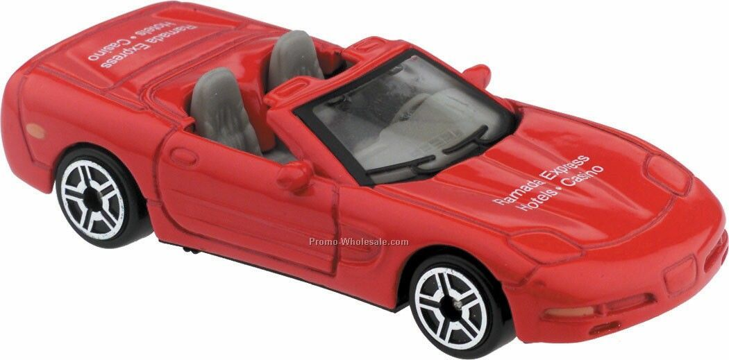 Red '98 Corvette Die Cast Mini Vehicles - 3 Day