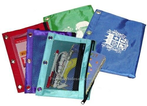 Small 3 Ring Binder Pouch - 420d