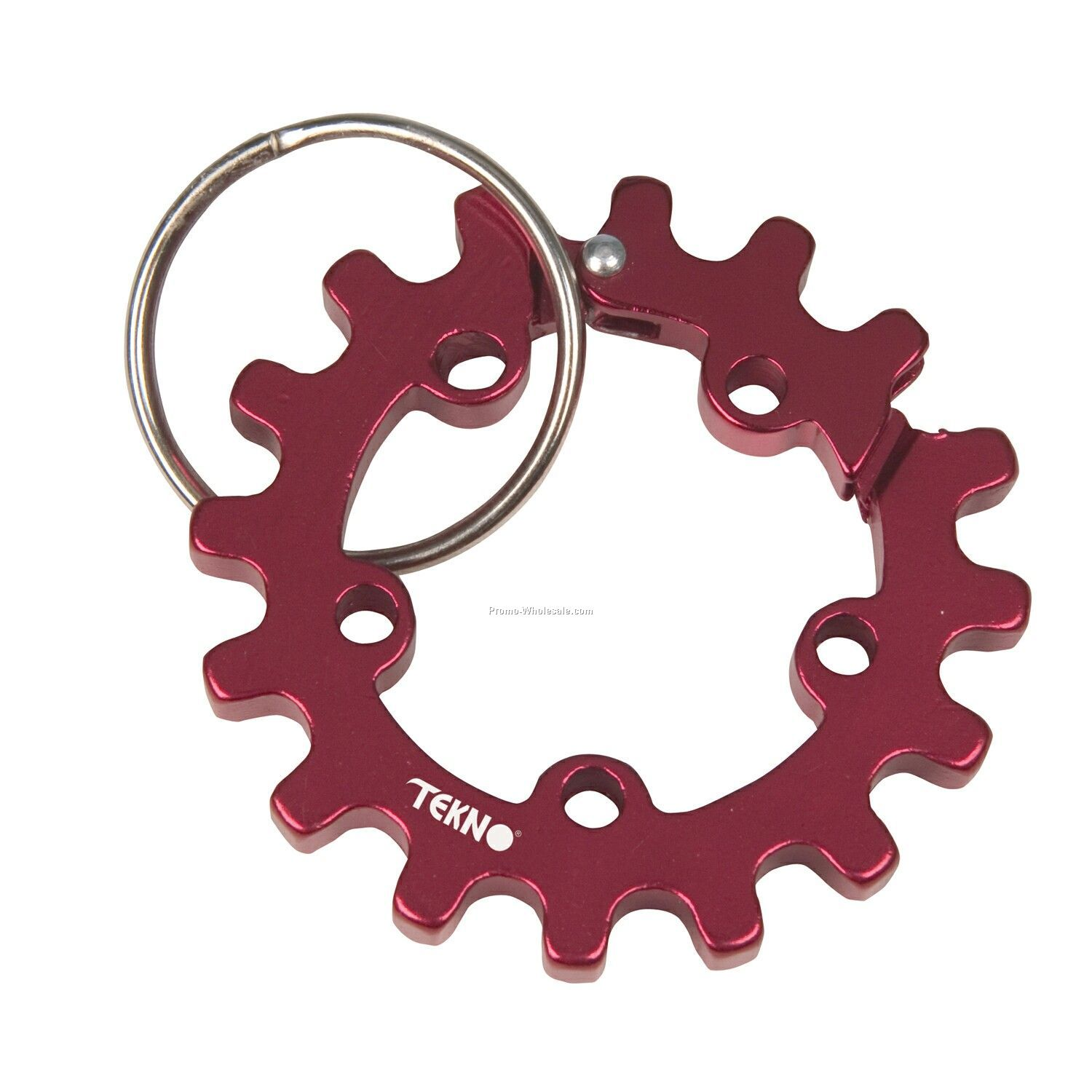 Sprocket Carabiner With Ring