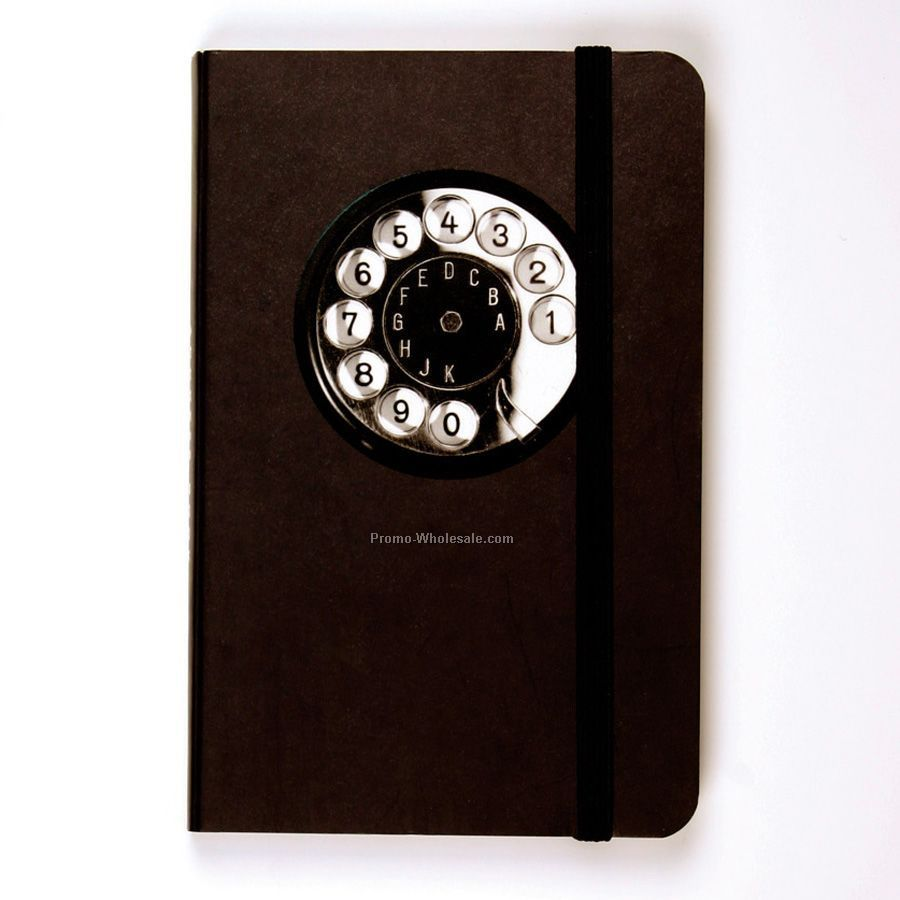 Telephone Pocket Address Book (Black)