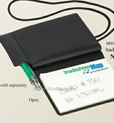 Trade Show Travel Pouch (Imprinted Cover-imprinted Notepad)