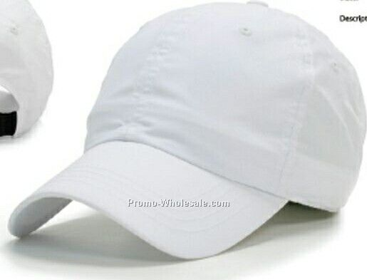Un Constructed Nylon Polo Cap