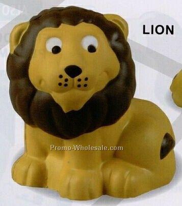 Wild Animals - Lion Squeeze Toy