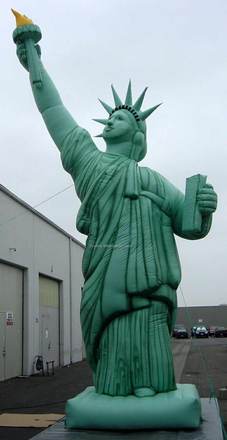 15 Ft Statue Of Liberty Inflatable Cold Air