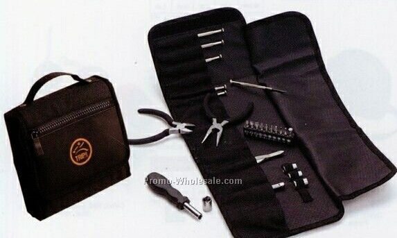 19 Piece Tool Kit W/ Durable Carrying Case