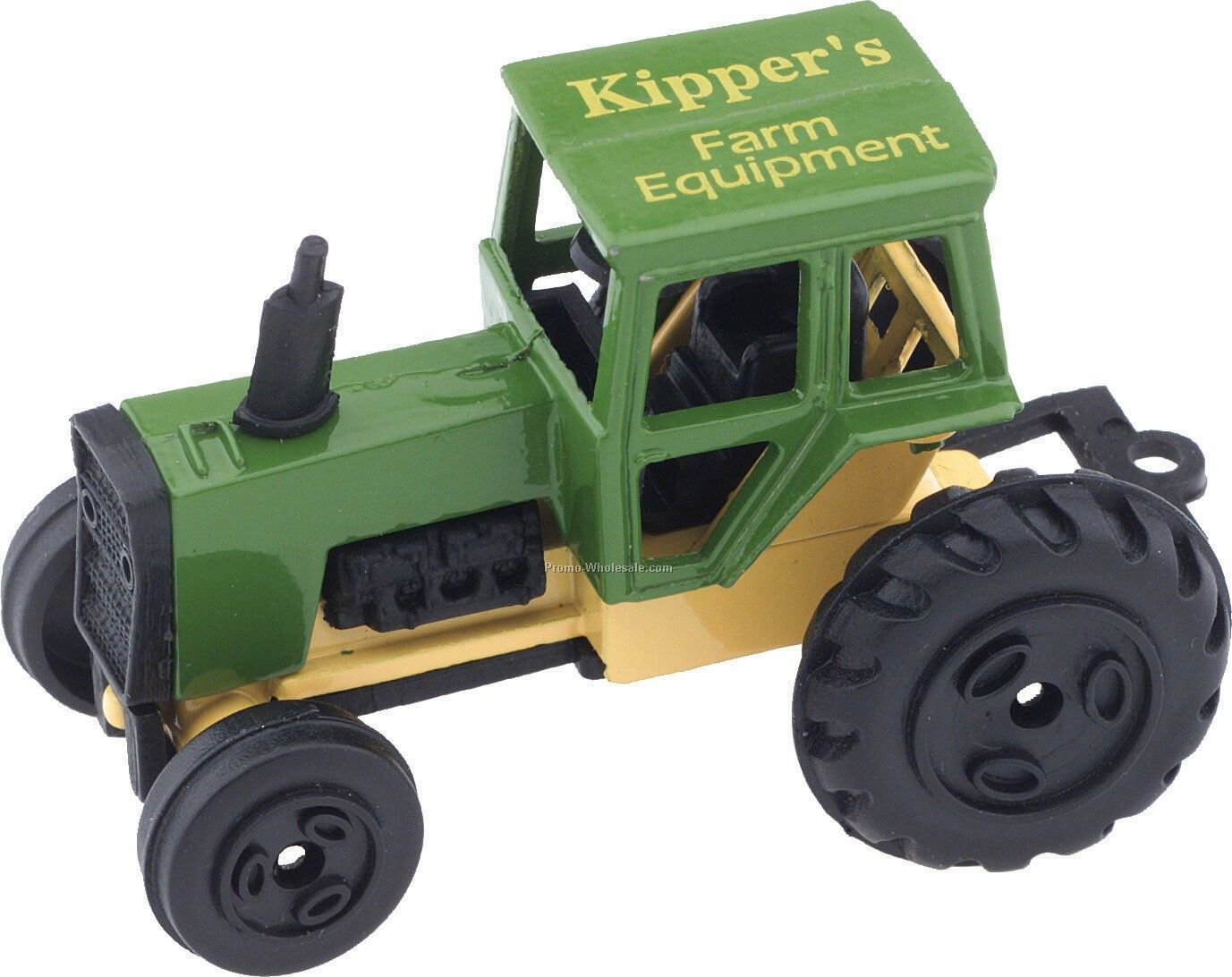 "2-1/2"" Green Tractor Die Cast Mini Vehicles"